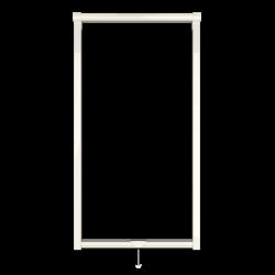 Moustiquaire sur-mesure enroulable fenêtre Kocoon Premium blanc