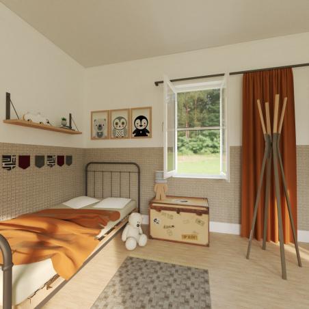Moustiquaire sur-mesure enroulable fenêtre Kocoon Premium détaillée couleur blanc