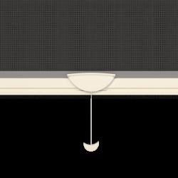 Moustiquaire sur-mesure enroulable fenêtre Kocoon Blanc détaillé 1