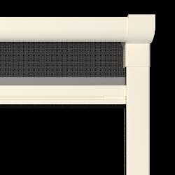 Moustiquaire sur-mesure enroulable fenêtre Kocoon Blanc Zoom C