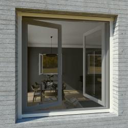 Moustiquaire sur-mesure enroulable fenêtre Kocoon Blanc