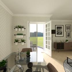 Moustiquaire porte sur-mesure enroulable latérale kocoon blanc vision intérieur
