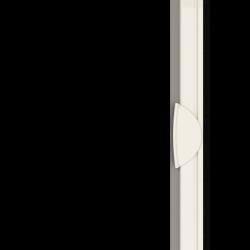 Moustiquaire porte sur-mesure enroulable latérale kocoon blanc Zoom A