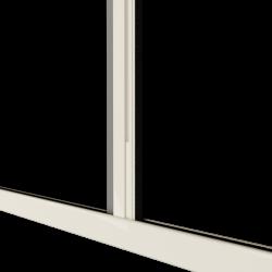 Moustiquaire porte sur-mesure enroulable latérale kocoon blanc Zoom C