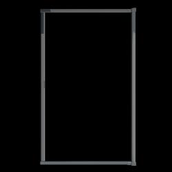 Moustiquaire porte enroulable latérale kocoon antracite détail 2