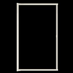 Moustiquaire porte enroulable latérale kocoon blanc détail 1