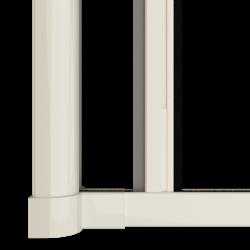 Moustiquaire porte enroulable latérale kocoon blanc Zoom B