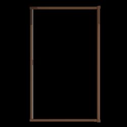 Moustiquaire porte enroulable latérale kocoon marron détail 2