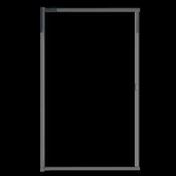 Moustiquaire porte enroulable latérale kocoon antracite détail 1