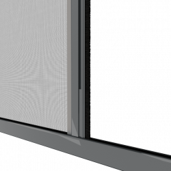 Moustiquaire porte enroulable latérale kocoon antracite Zoom C
