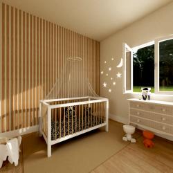 Moustiquaire Ciel de lit bébé 2