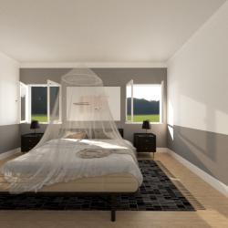 Moustiquaire Ciel de lit adulte