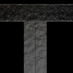 Moustiquaire fermeture magnétique pour porte (Rideau aimanté pour porte) Zoom B.