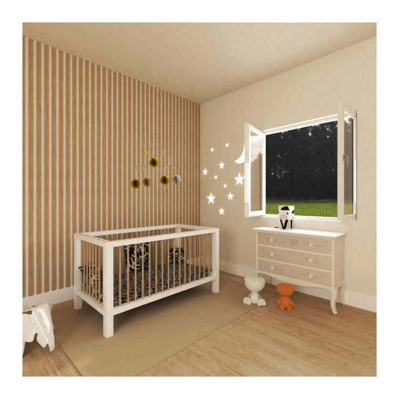 Moustiquaire cadre fixe aimanté pour fenêtre