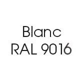 Moustiquaire couleur blanc RAL 9016